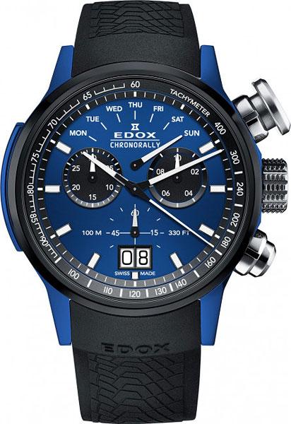 Мужские часы Edox 38001-TINBU1BUIB1