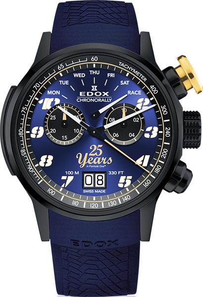 Мужские часы Edox 38001-TINN2BUB25