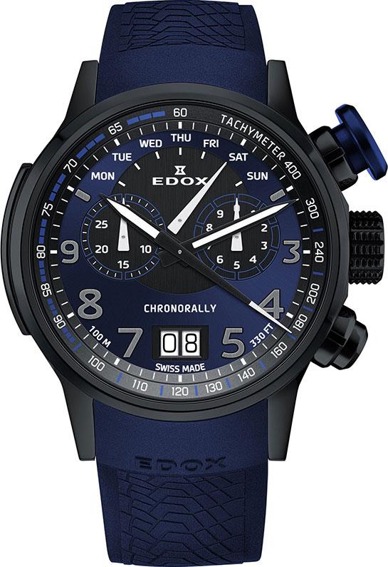 где купить Мужские часы Edox 38001-TINNBUF3BUF3 дешево