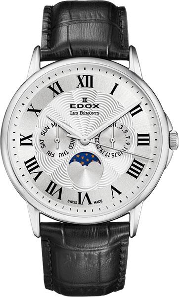 Мужские часы Edox 40002-3AR барс 40002
