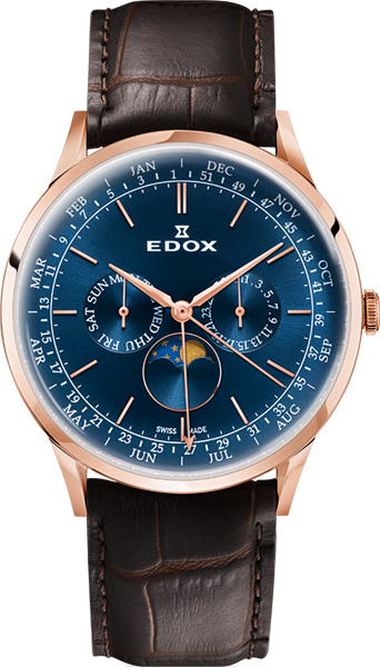 Мужские часы Edox 40101-37RCBUIR sax peachtree complete ii accounting made easy pr only