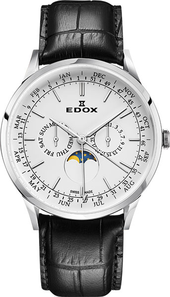 Мужские часы Edox 40101-3CAIN цена и фото