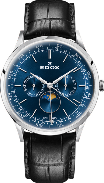 Мужские часы Edox 40101-3CBUIN цена и фото