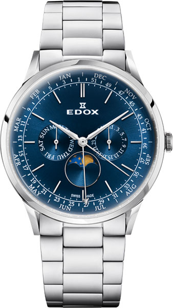 Мужские часы Edox 40101-3MBUIN цена в Москве и Питере