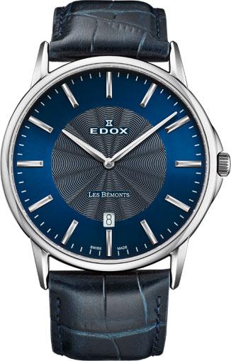 Фото - Мужские часы Edox 56001-3BUIN бензиновая виброплита калибр бвп 13 5500в