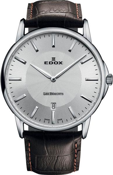 Мужские часы Edox 56001-3MAIN цена и фото