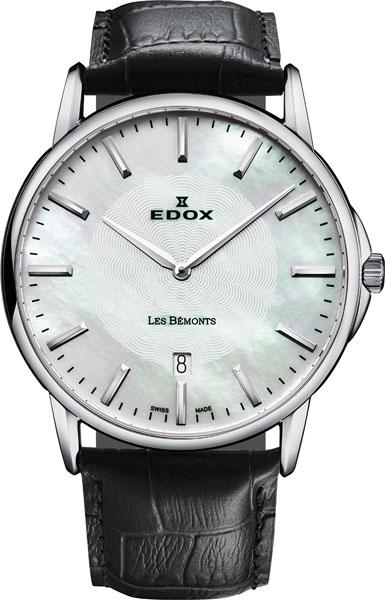 Мужские часы Edox 56001-3NAIN edox 34002 3ain