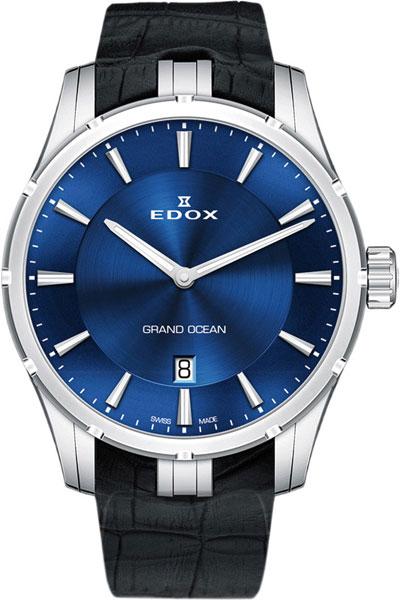 Мужские часы Edox 56002-3CBUIN цена и фото