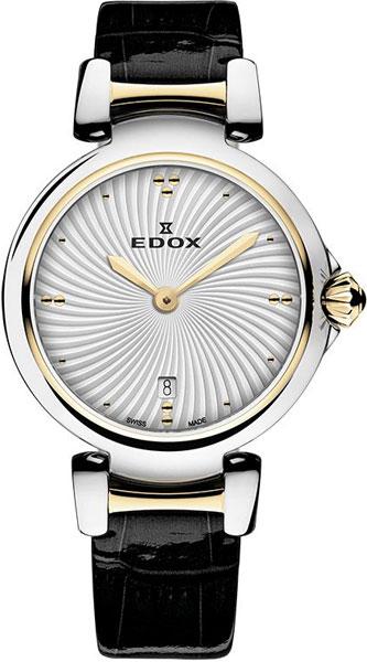 Женские часы Edox 57002-357RCAIR женские часы edox 57002 357rmnir