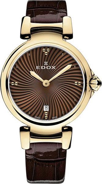 Женские часы Edox 57002-37RCBRIR женские часы edox 57002 357rmnir