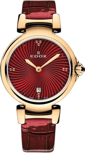 Женские часы Edox 57002-37RCROUIR женские часы edox 57002 357rmnir