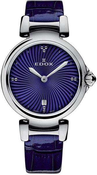 Женские часы Edox 57002-3CBUIN edox 34002 3ain
