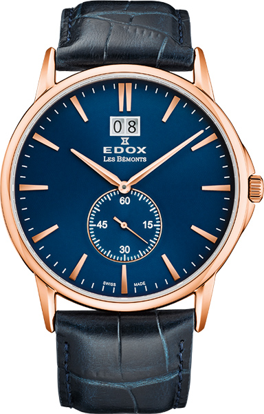 Фото - Мужские часы Edox 64012-37RBUIR бензиновая виброплита калибр бвп 13 5500в