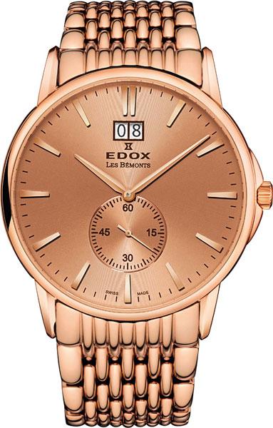 Мужские часы Edox 64012-37RMROIR edox 34002 3ain