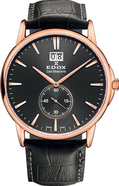 Мужские часы Edox 64012-37RNIR edox 34002 3ain