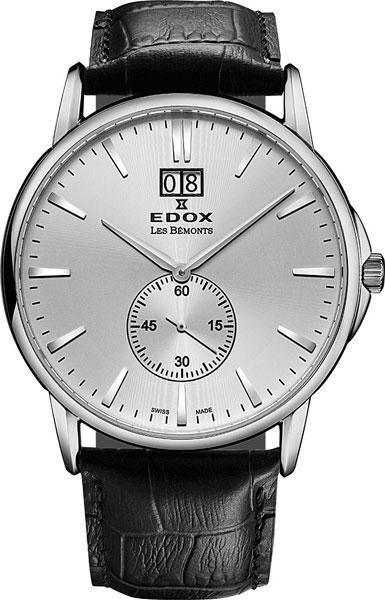 все цены на Мужские часы Edox 64012-3AIN онлайн