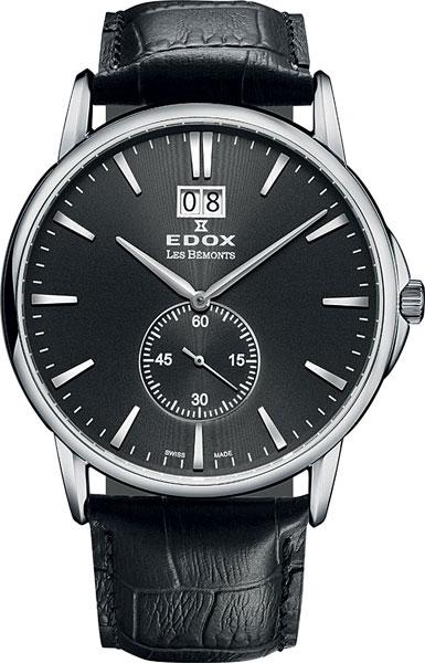Мужские часы Edox 64012-3NIN мужские часы edox 85014 3nin