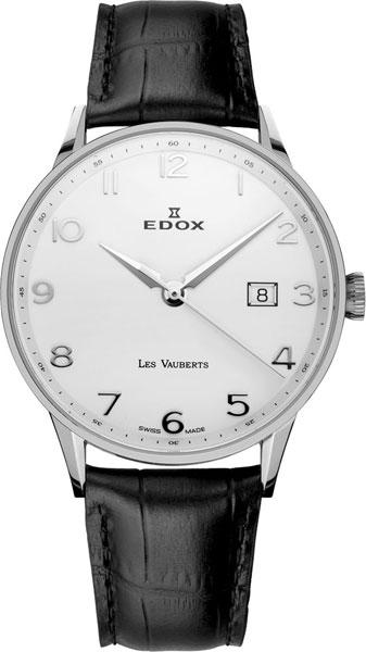 Мужские часы Edox 70172-3AABN цена и фото