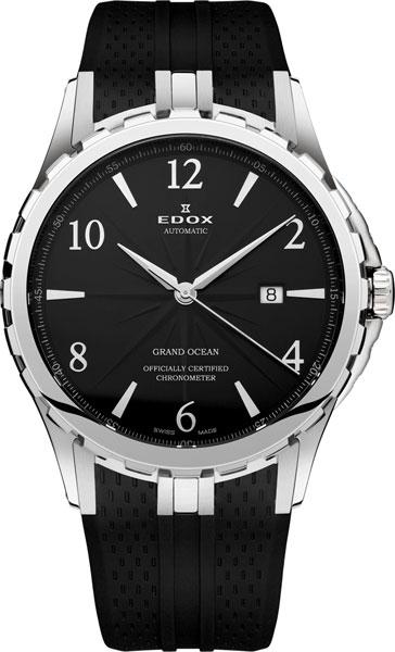 Мужские часы Edox 80077-3NBN edox grand ocean automatic chronometer