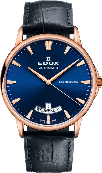 Мужские часы Edox 83015-37RBUIR edox 85021 37rbuir edox