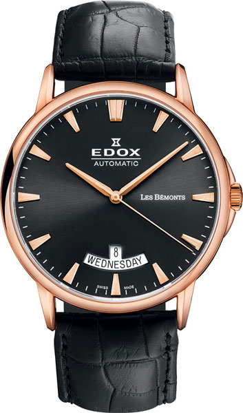 Мужские часы Edox 83015-37RNIR edox 85021 37rbuir edox