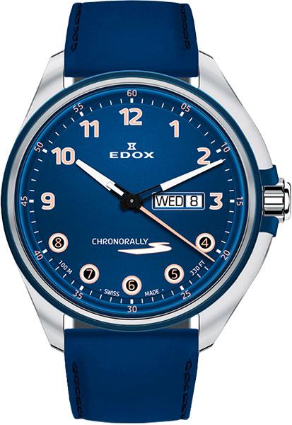 Мужские часы Edox 84301-3BUCBUBUBEB цена и фото