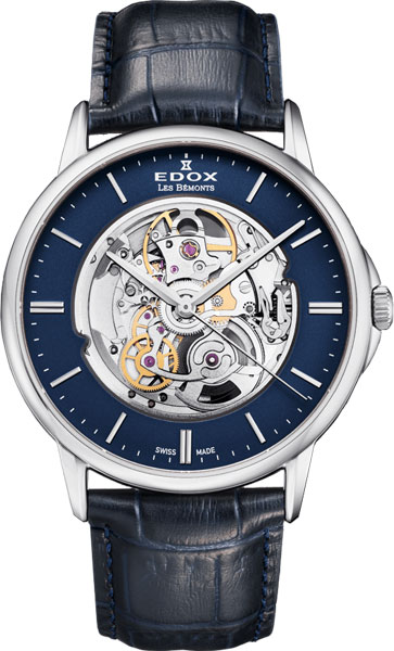 Мужские часы Edox 80301-3NMBUIN Женские часы Ника 1209.32.9.86A