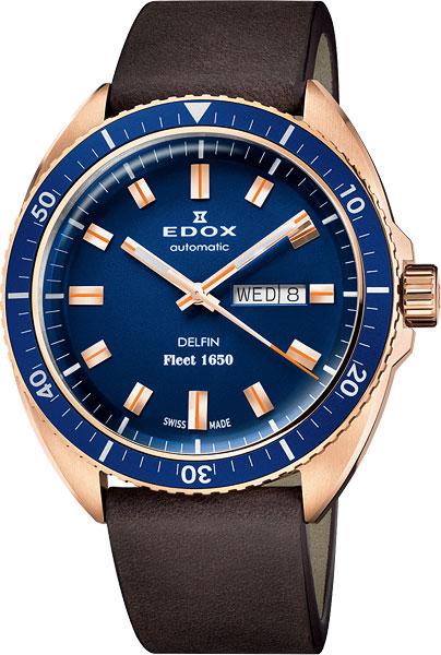 Мужские часы Edox 88004-BRZBUBUI edox classe royale 85007 357nnin