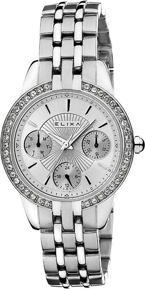 Женские часы Elixa E094-L361 Мужские часы Rhythm FI1605S04