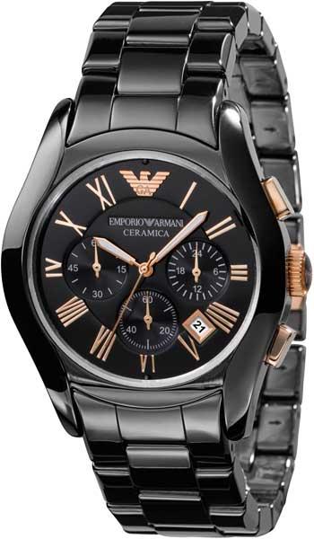 мужские часы emporio armani керамические