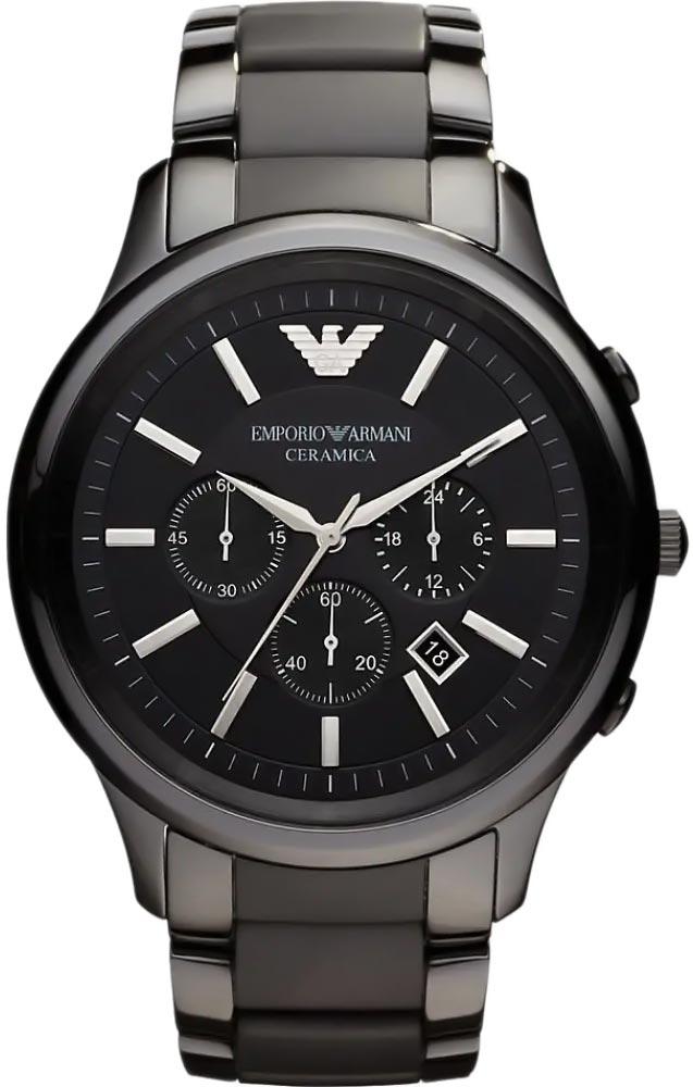 Фото «Керамические наручные часы Emporio Armani AR1451 с хронографом»