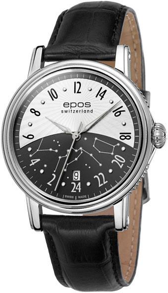 Мужские часы Epos 3390.302.20.38.25 epos 3401 132 24 17 27