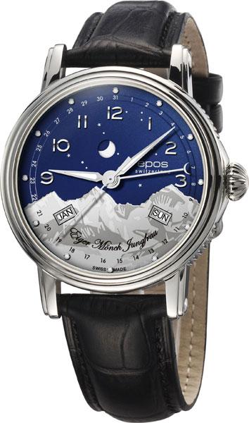 Мужские часы Epos 3391.832.20.36.25 соевая машина philips hd2070 02