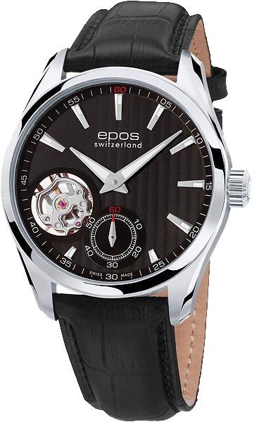 Мужские часы Epos 3403.193.20.15.25 золотой браслет с часов марка модной platinum часов реального позолоченные 21 см уникальный раунда цепи