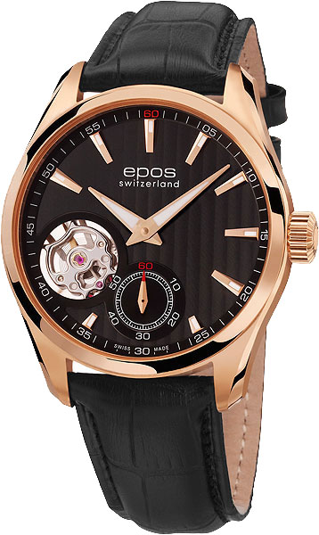 Мужские часы Epos 3403.193.24.15.25 золотой браслет с часов марка модной platinum часов реального позолоченные 21 см уникальный раунда цепи