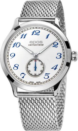 Фото - Мужские часы Epos 3408.208.20.30.30 мужские часы epos 3401 132 20 58 25