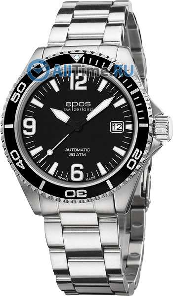 Мужские наручные швейцарские часы в коллекции Sportive Epos AllTime.RU 35280.000