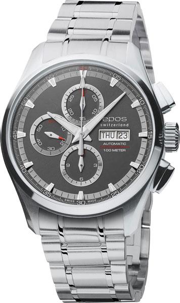 Швейцарские мужские часы в коллекции Sportive Мужские часы Epos 3433.228.20.14.30 фото