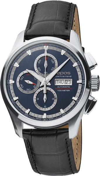 Мужские часы Epos 3433.228.20.16.25 u7 2016 новая мода силиконовая и нержавеющая сталь браслет мужчины изделий 18k позолоченный браслеты