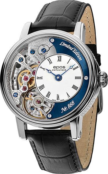 Фото - Мужские часы Epos 3435.313.20.26.25 мужские часы epos 3401 132 20 58 25