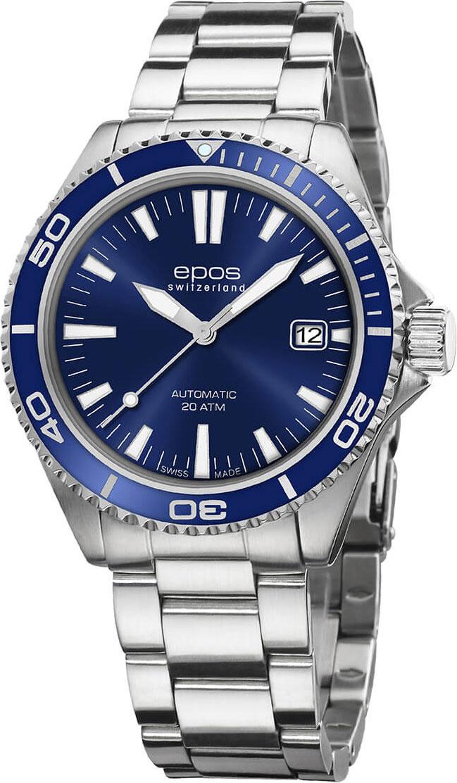 Мужские часы Epos 3438.131.96.16.30