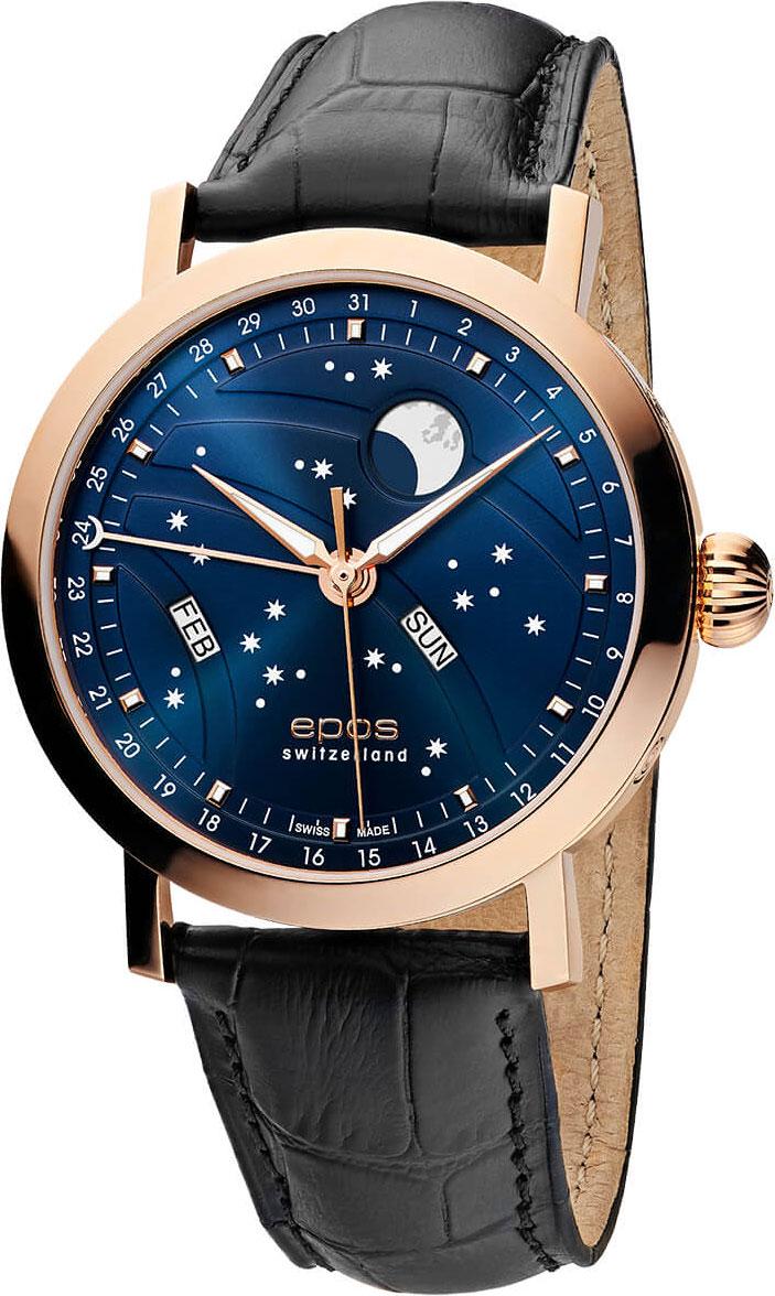 лучшая цена Мужские часы Epos 3440.322.24.16.25