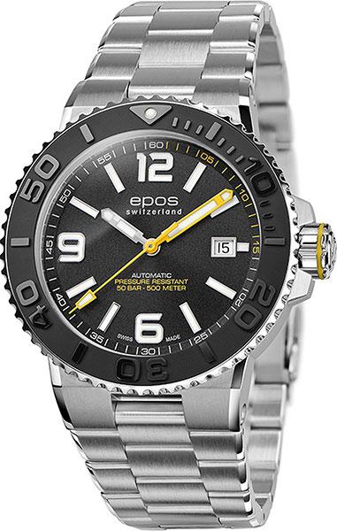 Фото - Мужские часы Epos 3441.131.20.55.30 мужские часы epos 3401 132 20 58 25