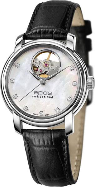 Женские часы Epos 4426.132.20.80.30 Мужские часы Bomberg BS45GMTSP.027.3