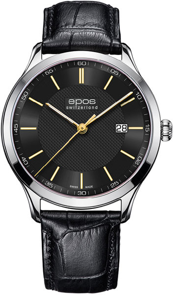 Фото - Мужские часы Epos 7000.701.20.95.25 мужские часы epos 3401 132 20 58 25