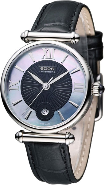 Женские часы Epos 8000.700.20.65.15 роскошные золотые часы женские кварцевые стальные наручные часы повседневные женские наручные часы женские часы