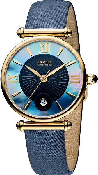 Женские часы Epos 8000.700.22.65.86 наручные часы epos 3426 132 20 20 30
