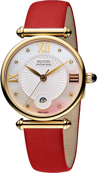 Женские часы Epos 8000.700.22.88.88 женские часы epos 4426 132 20 65 15