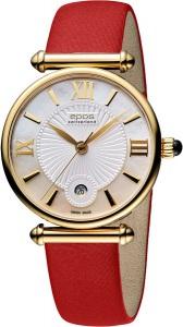 1d1b511c073e Желтые наручные часы Epos (Эпос) с белым циферблатом — купить на ...