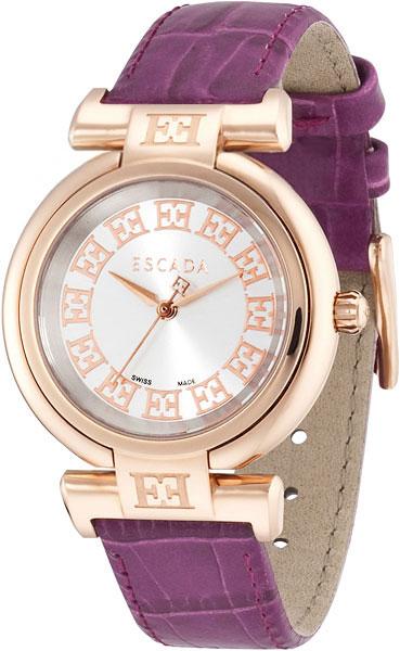 цена Женские часы Escada E2100013-ucenka онлайн в 2017 году